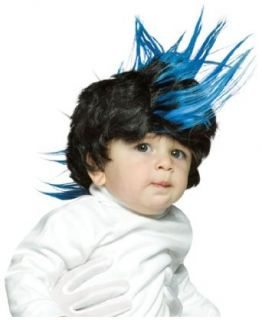 Kid Vicious Mohawk Wiggie Baby Wig Halloween Costume Accessory Toys & Games
