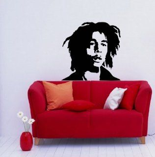 Wall Vinyl Decal Art Design Murals Interior Decor Sticker BOB MARLEY (SV2144)