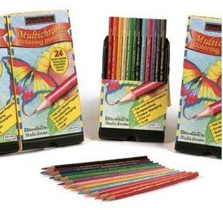 General Pencil Multichrome Artistic Coloring Pencils   24 Pack Toys & Games