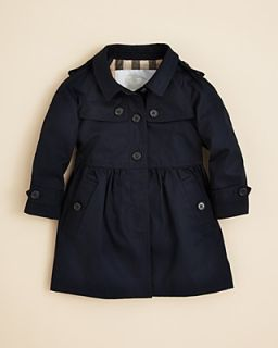 Burberry Infant Girls' Melody Girly Trench Coat   Sizes 6 18 Months's