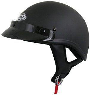 THH T 70 Half Helmet (Flat Black, Large) Automotive