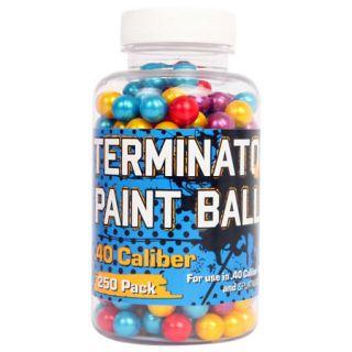 Palco Terminator Multi Color .40 Cal. Paintballs 250 Pack 776471