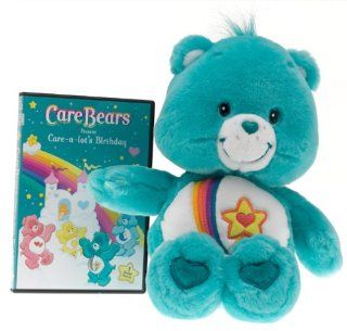 "Care Bears 13"" Talking Thanks a lot Bear with DVD (2004) Toys & Games"