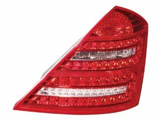 Depo 440 1970R AQ Mercedes Benz S550 Passenger Side Tail Lamp Assembly with Bulb and Socket Automotive