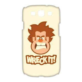 Custom Wreck It Ralph 3D Cover Case for Samsung Galaxy S3 III i9300 LSM 3774: Cell Phones & Accessories