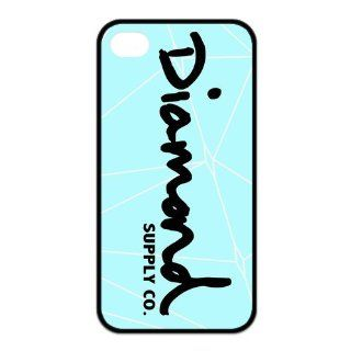 Happinessexplorer Diamond Supply Co DMND Logo Best Durable Silicone iPhone 4/4S Case: Cell Phones & Accessories