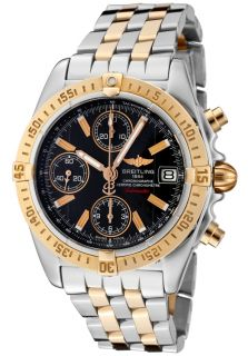 Breitling C1335812/B949 TT  Watches,Mens Windrider Automatic Mechanical Chrono Black Dial Stainless Steel and 18k Solid Rose Gold, Chronograph Breitling Automatic Watches