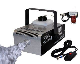 XStatic Pro Lighting X T900 Twister 900W High Powered DJ Nightclub Bar Smoke Fog Machine Wired & Wireless Control Musical Instruments