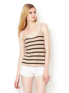 Elisa Striped Knit Tank Top by C.Z. FALCONER