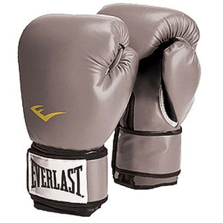 Everlast Pro Style Boxing Gloves, Grey Exercise & Fitness
