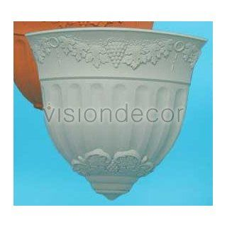 """10"""" Light Green Roman Plastic Corner Wall Planter Flower Pot Holder  Outdoor And Patio Products  Patio, Lawn & Garden"""