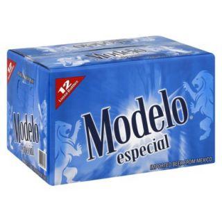 Modelo Especial Beer Bottles 12 oz, 12 pk