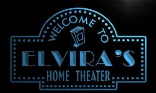 phg462 b Elvira's Home Theater Popcorn Bar Beer Neon Light Sign