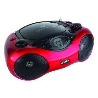 JENSEN CD 480 PORTABLE STEREO CD PLAYER WITH AM/FM RADIO  Personal Cd Players   Players & Accessories