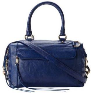 Rebecca Minkoff Mab Mini Satchel Bag,Navy,One Size: Clothing