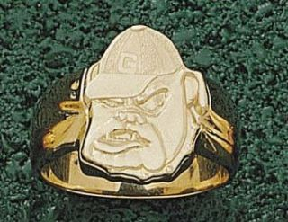 "Georgia Bulldogs ""Bulldog Face"" Men's Ring Size 10 1/2   14KT Gold Jewelry: Clothing"
