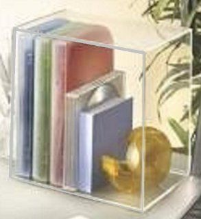 Init 16 CD 11 DVD Media Desktop Acrylic Storage Clear Organizer NT MS501: Electronics
