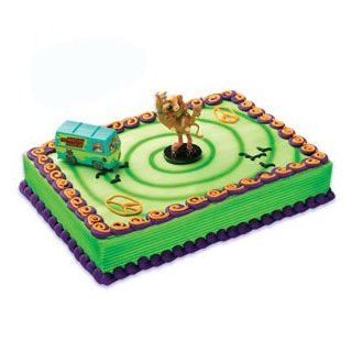SCOOBY DOO Dog and Shaggy Mystery Machine VAN Cake Decoration Topper Set Kit Toys & Games