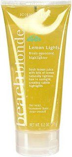 John Frieda Beach Blonde Lemon Lights Fresh Squeezed Highlighter, One 6.2 Oz. Tube. : Hair Highlighting Products : Beauty