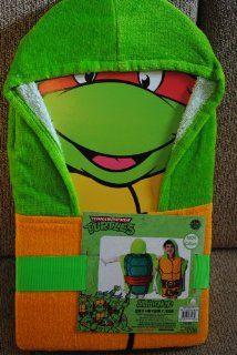 Teenage Mutant Ninja Turtles Hooded Towel Beach / Bath   Tmnt Towel