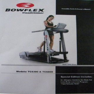 BowFlex Treadclimber Owners Manual TC 5300 TC 6000  Exercise Treadmills  Sports & Outdoors