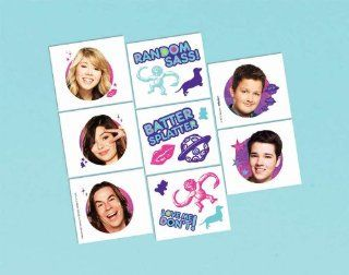 iCarly Tattoos 16ct [Toy] [Toy] Toys & Games