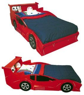Twin Size Race Car Bed Full Size Traceable Plans   Childrens Bedroom Furniture
