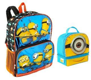 "Despicable Me 2   16"" Backpack & Matching Lunch Tote Toys & Games"