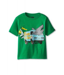 Quiksilver Kids Crash Course Tee Boys T Shirt (Green)