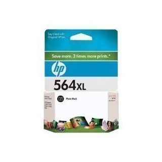 HP 564XL   Print cartridge   1 x photo black   290 pages   for Photosmart 55XX B111, 6510 B211, Pl