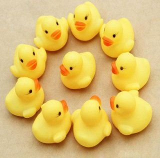 Doinshop Brand NEW One Dozen (12) Rubber Duck Ducky Duckie Baby Shower Birthday Party Favors Toys & Games