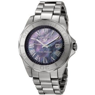 Swiss Legend Men's 18010A 11 Tungsten Collection Automatic Black Mother of Pearl Watch at  Men's Watch store.