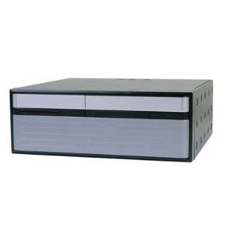 In Win BD584.P300.BU2A mBTX Desktop 300W 1 1 (2)Bays USB2.0 Audio System Cabinet   Black and Silver: Electronics
