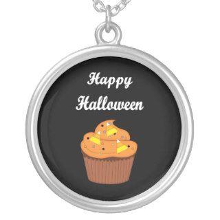 Happy Halloween Cupcake Pendants