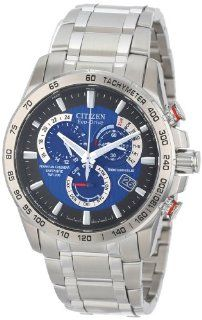 Citizen Men's AT4000 53L  Eco Drive Perpetual Chrono A T Exclusive Watch: Watches