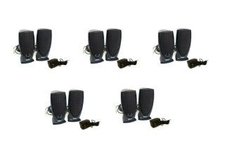 """5 Lot Genuine Dell A215, Y9259 Black 3W Watt High Quality Enhanced Stereo Sound Speakers With Power Adapter PA, For Computers, PCs, , IPods, Laptops, Notebooks, 2 Channel 1/8"""" Audio Jack, Volume control, 100Hz 20Khz Part Numbers A215, Y9259 Compu"""