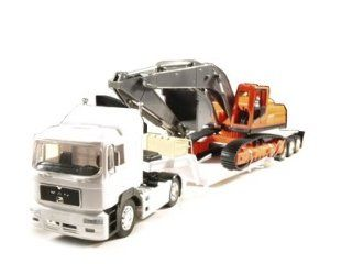 132 Man 19.603 FLS Construction Truck Trailer Diecast Toys & Games