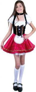 Preteen Heidi Halloween Costume (Size:X LG 12 14): Clothing