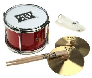 First Act DiscOvery FP601 Marching Band Kit: Musical Instruments