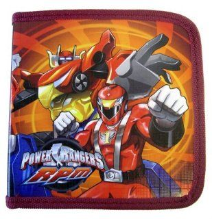 Power Rangers RPM CD/DVD Holder   Bandai Power Rangers RPM CD/DVD Case (colors may vary) Toys & Games