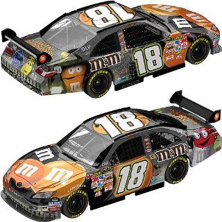 Kyle Busch #18 MMs M&Ms 2008 Halloween Toyota Camry 1/64 Scale Car Action Racing Collectables ARC Toys & Games