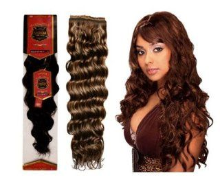 EVE HAIR Brazilian Deep Wave 100% Human Hair (F6/613) : Hair Extensions : Beauty