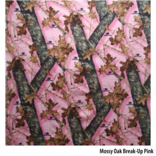 Birchwood Trading Mossy Oak Break Up Pink Camo Fleece Throw 754348