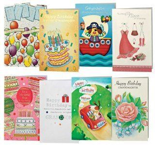 Happy Birthday Cards For Kids   Pack Of 24 by WalterDrake : Greeting Cards : Office Products