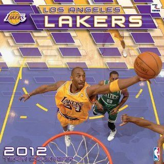 Los Angeles Lakers Wall Calendar 2012   Furniture