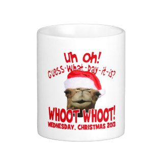 Hump Day Camel Christmas 2013 Coffee Mug