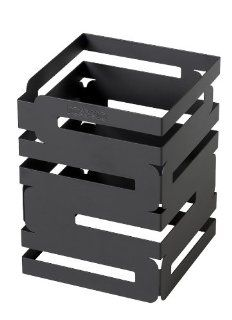 Rosseto D623RB Skycap Multi Level Buffet Riser, 8 Inch, Black Matte Powder Coated Steel Finish: Industrial & Scientific