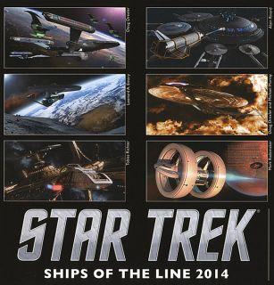 Star Trek Ships of the Line 2014 Wall Calendar
