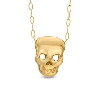 TEENYTINY® Skull Pendant in 10K Gold   17   Zales