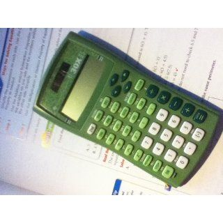 Texas Instruments TI 30X IIS 2 Line Scientific Calculator, Lime Green  Scientific Calculator  Electronics